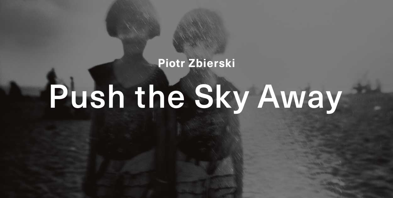 """Push the Sky Away"" by Piotr Zbierski: Flyer design"